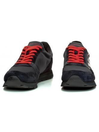 Sneakersy Męskie Emporio Armani Granatowe X4X215 XL198 D879 NAVY/D.NAVY