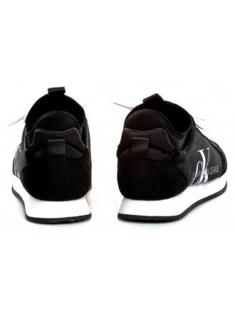 Sneakersy Męskie Calvin Klein Jeans Czarne Jemmy B4S0136 Black