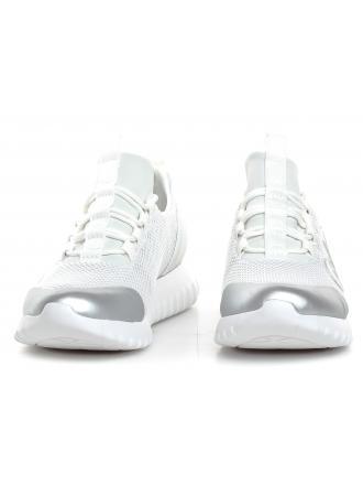 Sneakersy Damskie Calvin Klein Jeans Białe Reika R0666 White/Silver