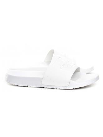 Klapki Damskie Calvin Klein Jeans Białe Christie R8837 White