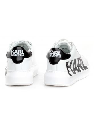 Sneakersy Damskie Karl Lagerfeld Białe KL62523 011 WHITE