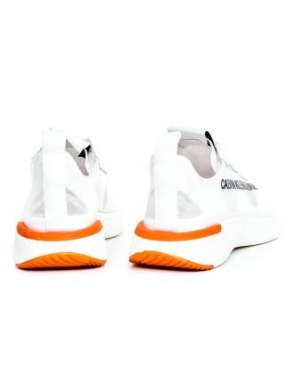Sneakersy Damskie Calvin Klein Jeans Białe Alexia R7808 Bright White