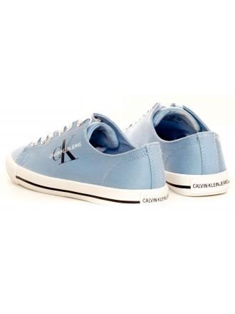 Trampki Damskie Calvin Klein Jeans Niebieskie Diamante B4R0896 Chambray Blue
