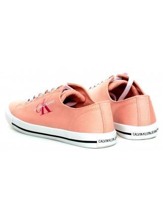 Trampki Damskie Calvin Klein Jeans Różowe Diamante B4R0896 Light Peony
