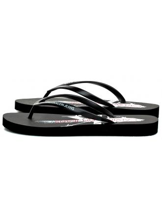 Klapki Damskie Calvin Klein Jeans Czarne Dorinda B4R0905 Black
