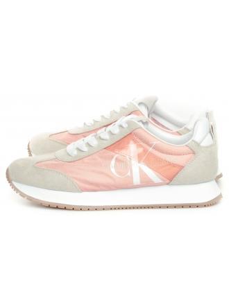 Sneakersy Damskie Calvin Klein Jeans Różowe Josepha B4R0872 Light Peony/Stone