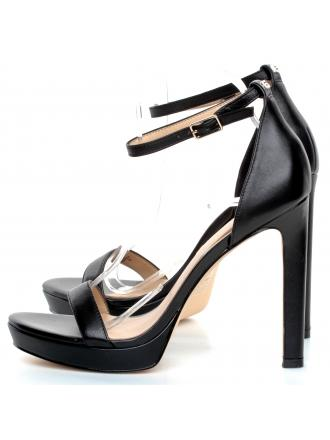 Sandały Damskie GUESS Czarne EIRA FL6EIA LEA03 BLACK
