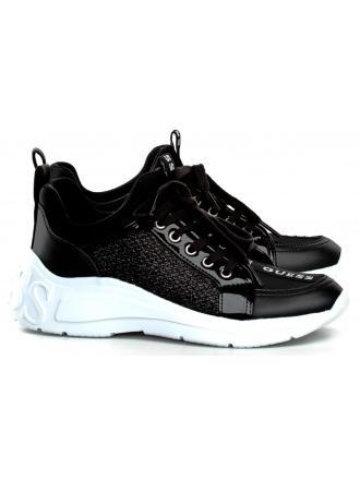 Sneakersy Damskie GUESS Czarne SPEERIT FL6SPT FAB12 BLACK
