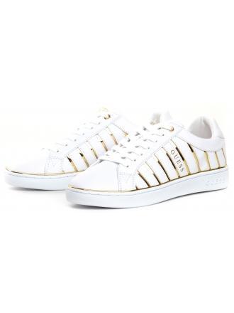 Sneakersy Damskie GUESS Białe BOLIER FL5BOL ELE12 WHIGO