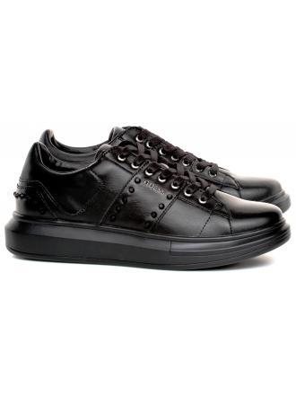 Sneakersy Męskie GUESS Czarne KEAN FM5KEA LEA12 BLACK