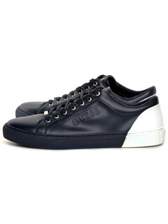 Sneakersy Męskie GUESS Granat LUISS FM5LUI LEA12 BLUWH