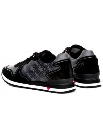 Sneakersy Męskie GUESS Czarne NEW GLORYM FM5NGL FAL12 BLKGR
