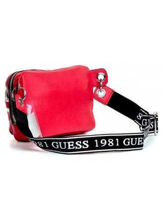 Saszetka Nerka Damska GUESS Czerwona HAIDEE GL75 8680 RED