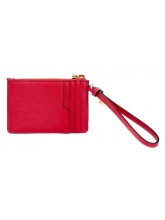 Portfel Damski Card Holder GUESS Czerwony POUCH RW8383 P0201 RED