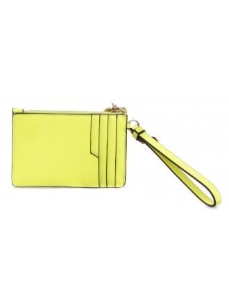 Portfel Damski GUESS Neonowy Żółty POUCH RW8383 P0201 NEY