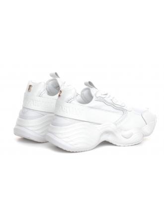 Sneakersy Damskie Emporio Armani Białe X3X088 XM307 A222 OPT WHITE