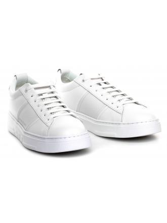 Sneakersy Męskie Emporio Armani Białe X4X287 XM318 A222 OPT WHITE