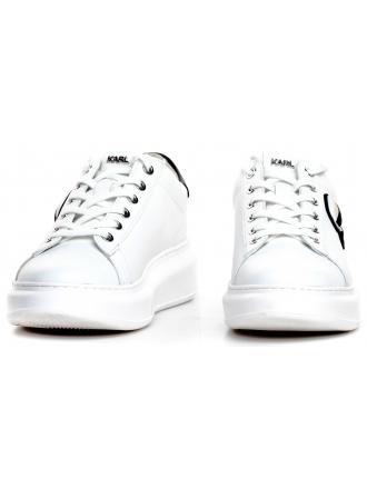 Sneakersy Damskie Karl Lagerfeld Biel KL62530 011 WHITE