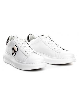 Sneakersy Męskie Karl Lagerfeld Biel KL52530-011 White Lthr