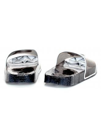 Klapki Damskie Karl Lagerfeld Czarne KL80705 V00 Black Rubber