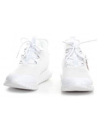 Sneakersy Męskie Calvin Klein Jeans Białe Reiland B4S0707 White