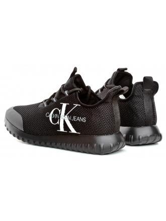 Sneakersy Męskie Calvin Klein Jeans Czarne B4S0707 Black