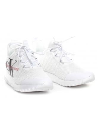 Sneakersy Damskie Calvin Klein Jeans Białe ROSILEE B4R1640 White