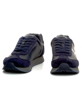 Sneakersy Męskie Calvin Klein Jeans Granat JOELE B4S0716 NAVY