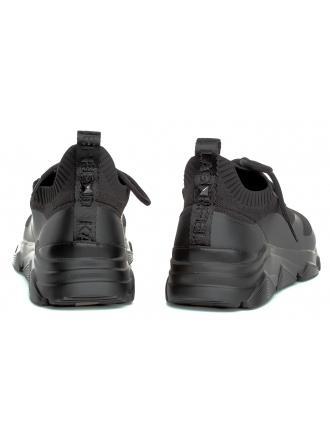 Sneakersy Męskie Karl Lagerfeld Czerń Verge KL51631 K0X Black