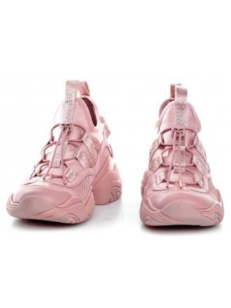 Sneakersy Damskie Karl Lagerfeld Róż Gemini KL62326 4LP Light Pink Lthr & Te