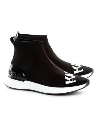 Sneakersy Damskie Karl Lagerfeld Czarne Finesse KL62140 K01 Black