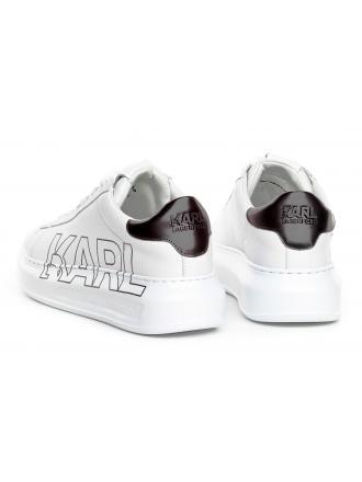 Sneakersy Damskie Karl Lagerfeld Biel Kapri KL62511 011 White