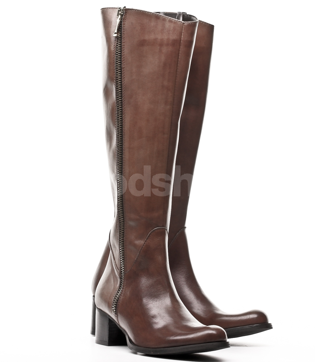 venezia s brown leather boots goodshoes pl
