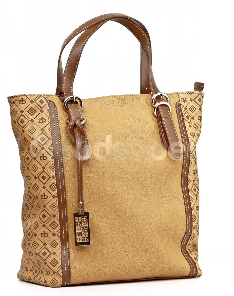 Roccobarocco women's brown bag