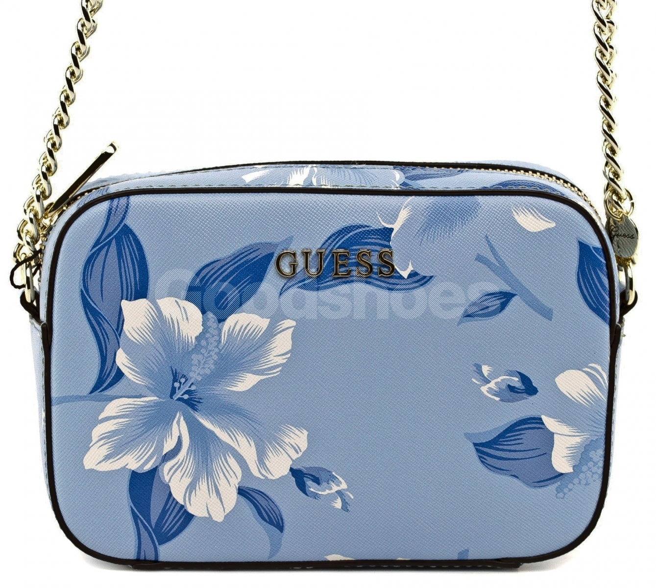 4922dc789d26b Listonoszka Damska GUESS Niebieska W Kwiaty 22 HWISAH P7212 BLM ...