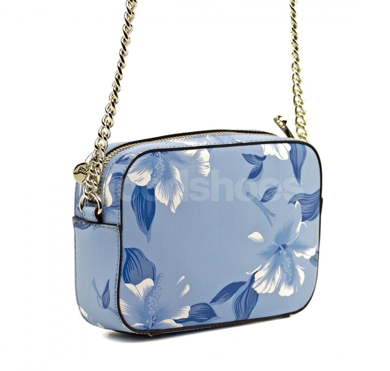 69f8b8f21c3e3 ... Listonoszka Damska GUESS Niebieska W Kwiaty 22 HWISAH P7212 BLM ...