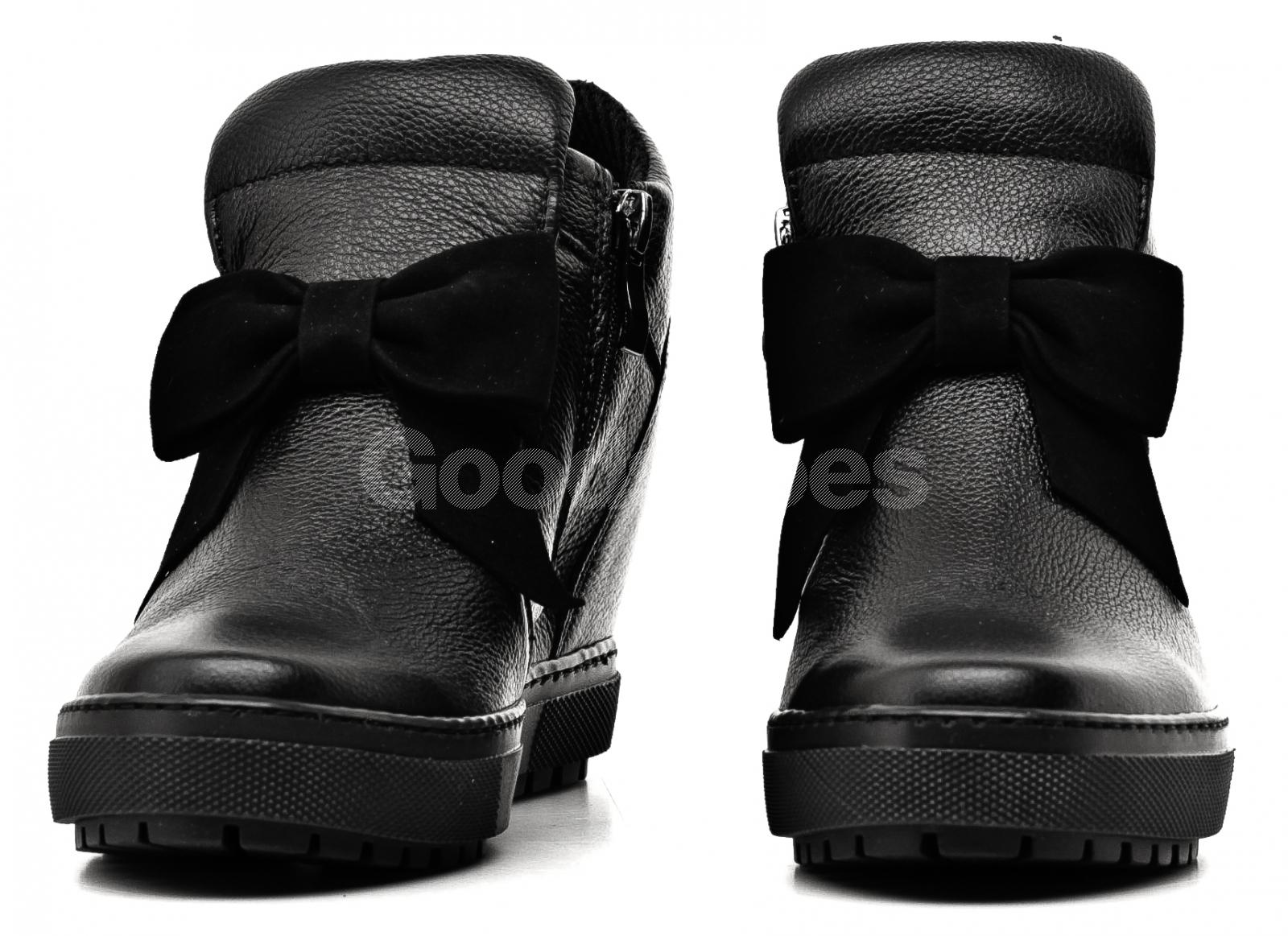 7692c101c4f88 ... Sneakersy Damskie Venezia Czarne Skórzane 04 1073I PEL NER