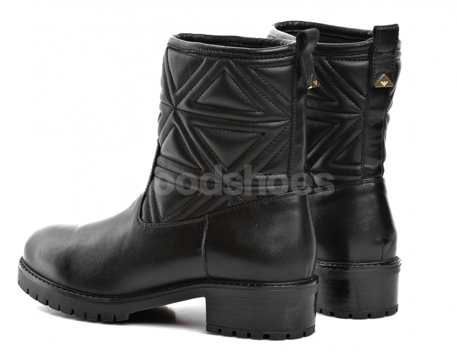 a3d0e5e9733b3 ... Kozaki Damskie Emporio Armani Czarne X3M255 XF259 00002 BLACK ...