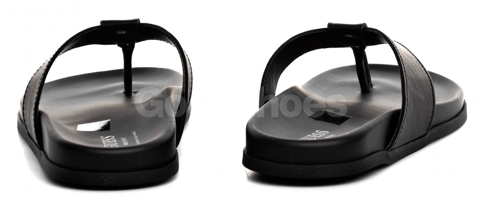 a43854fc6f56e Klapki Męskie GUESS Czarne CHRISS FM6CHR ELE21 BLACK - Goodshoes.pl