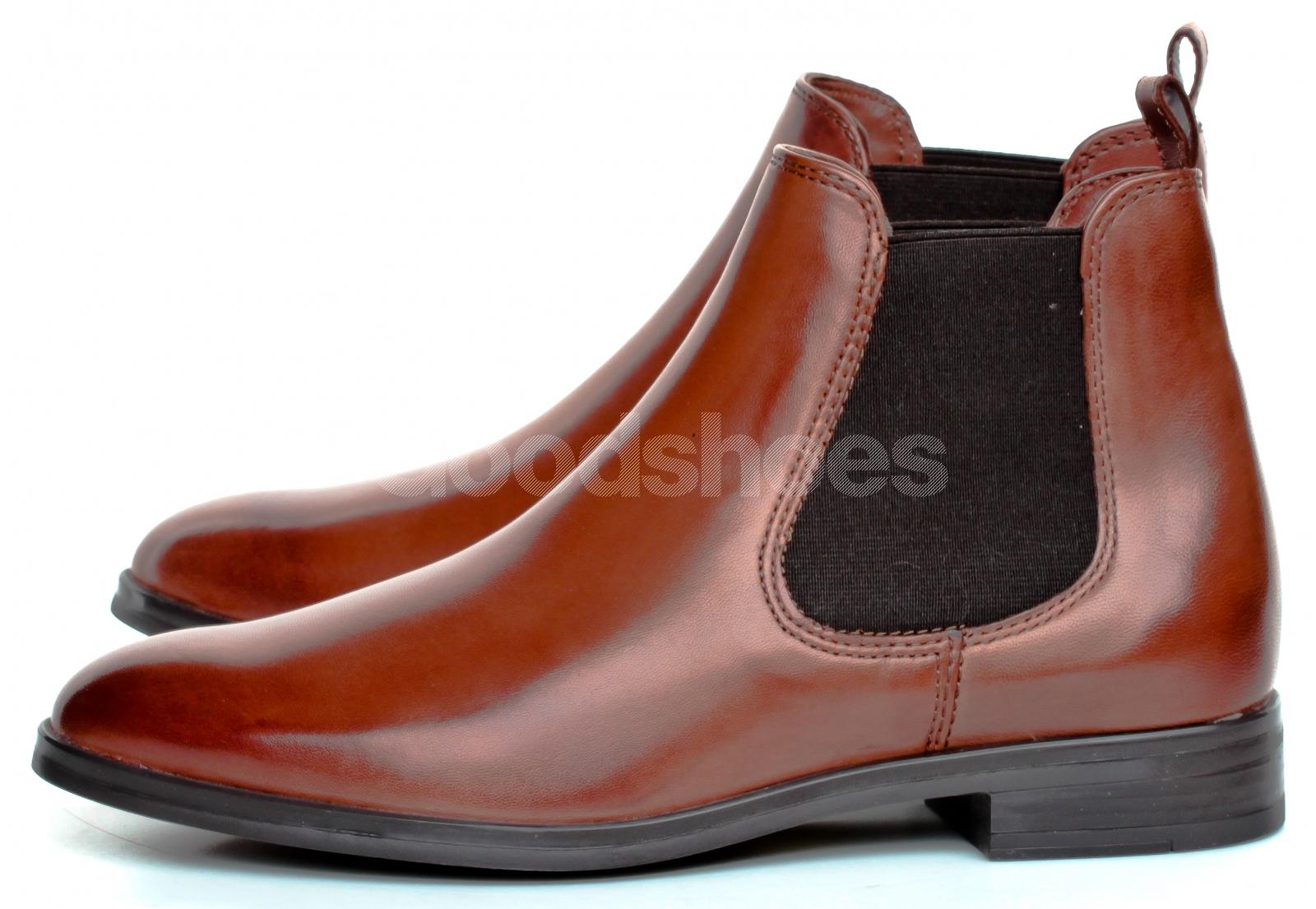 Sztyblety Damskie Venezia Brązowe 2MIA200 SC614 Goodshoes.pl