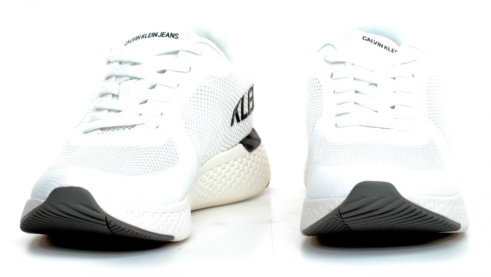 Buty sportowe męskie Calvin Klein Amos białe