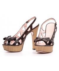 Sandały Włoskie Formentini Czarne Skóra Licowa 03 222663 BLACK
