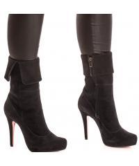 NORD women's velvet boots