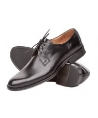 NORD men's black leather shoes