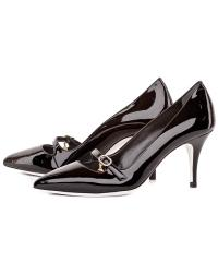 Loriblu women's black patent leather pumps