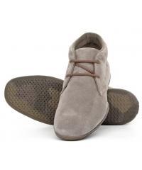 Trzewiki Sneakers męskie GEOX Zamsz Szary 20 C6029