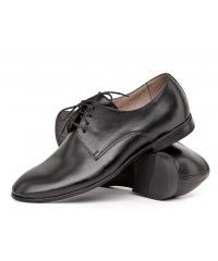 NORD men's black leather shoes