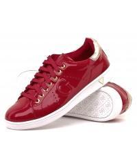 Sneakersy Damskie GUESS Czerwone 22 FL3SUP PAT12 RED