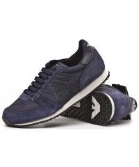 Sneakersy Półbuty Sportowe Armani Jeans Granat 30 B6524 BLUE