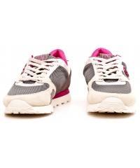 Sneakersy Półbuty Damskie Sportowe Armani Jeans Szare 30 C55C3 51 22 GREY